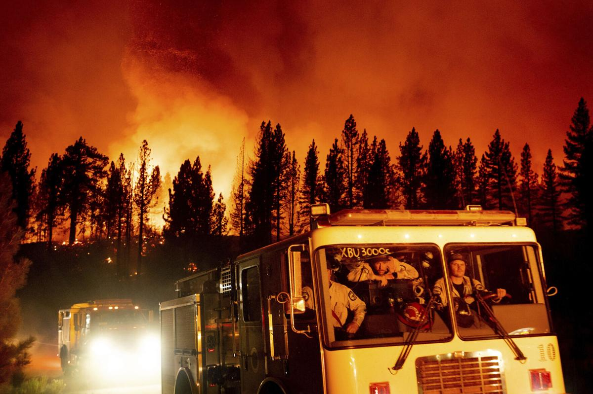 California Forest Closed as Wildfires Burn